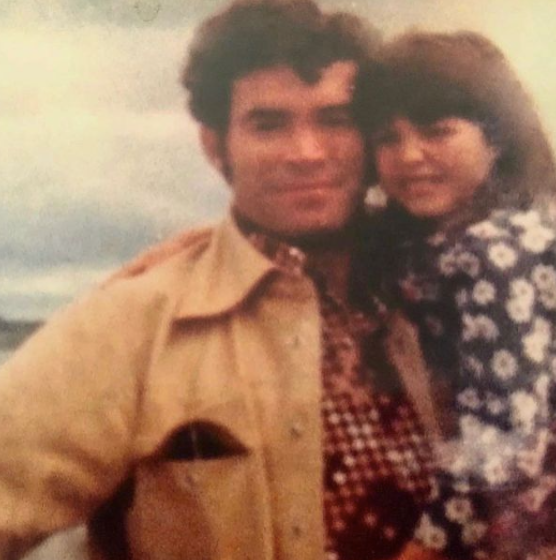 kimberly guilfoyle as a kid with her father