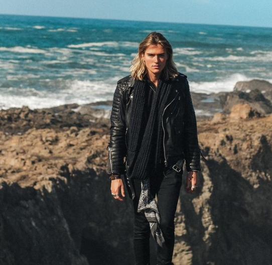 Luke eisner enjoying in the ocean