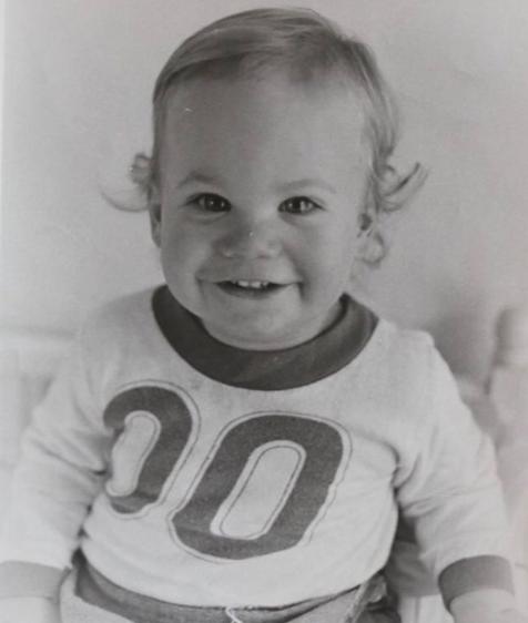 paul walker as a little kid