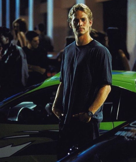 paul walker in the fast & the furious