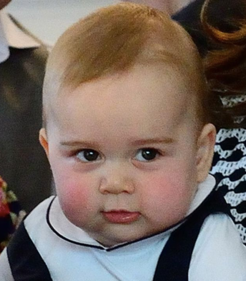 prince george as a little kid