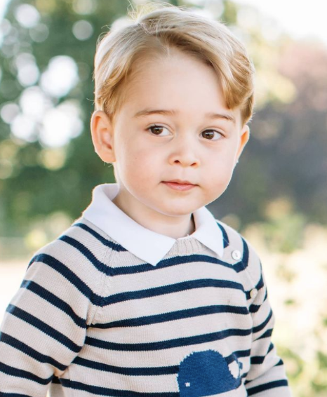 prince george in a photoshoot
