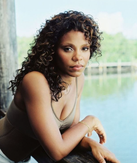 sanaa lathan during her young days